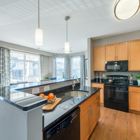 Spacious Kitchen   rentals frederick md   Prospect Hall