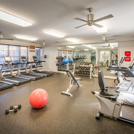Resident Fitness Center   apts In frederick md   Prospect Hall