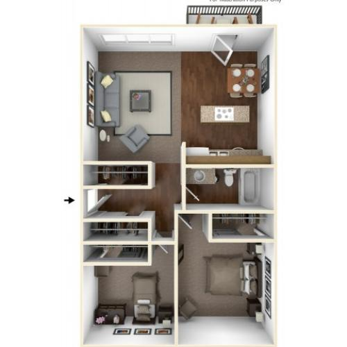 Country Oaks Apartments: 1 Bed / 1 Bath Apartment In Beaverton OR
