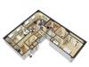 Sample Two Bed Two Bath Apartment