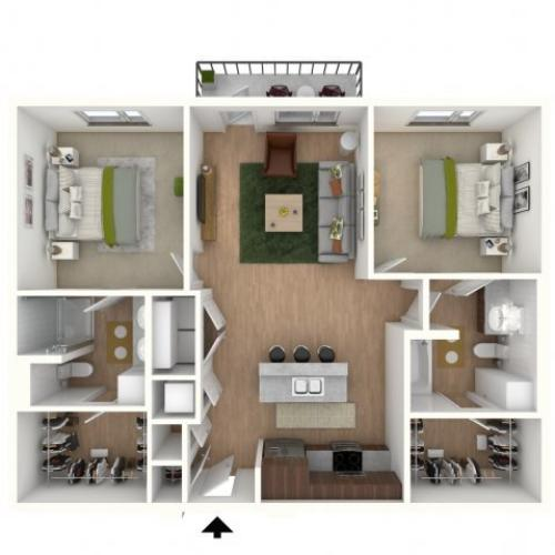 B2 - floor plan wfurniture display