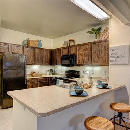 Aspire 349 apartment kitchen