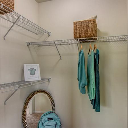 Aspire 349 bedroom closet