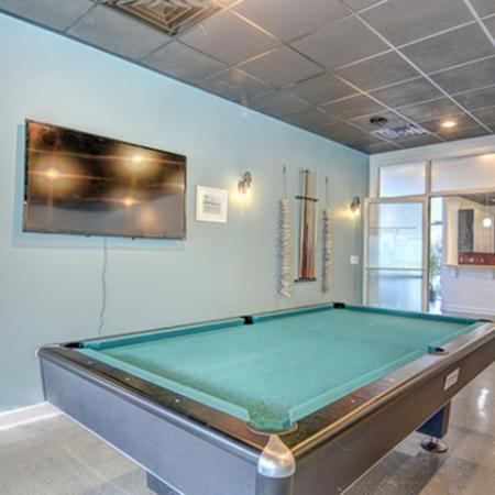 Aspire 349 clubhouse pool table
