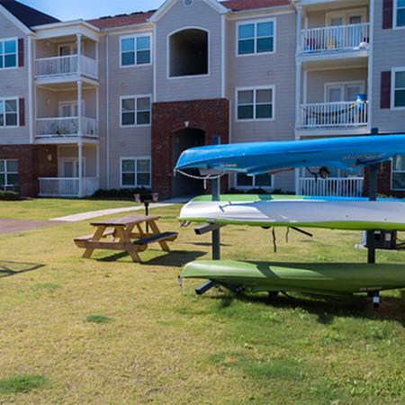 Aspire 349 kayak rack