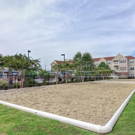 Aspire 349 sand volleyball court