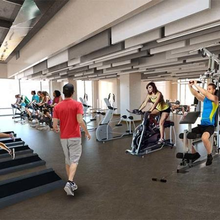 Resident Fitness Center | Apartment Homes In Norman | Cross OU