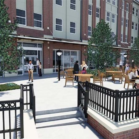 Student Outdoor Areas | Cross OU
