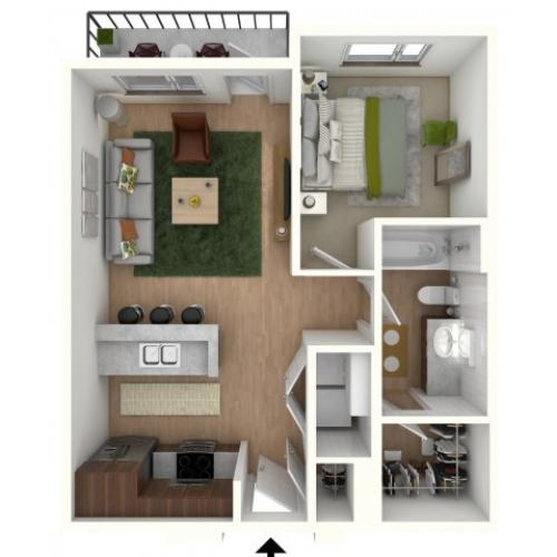 A1 - floor plan wfurniture display