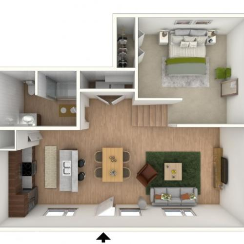 L2 - floor plan wfurniture display