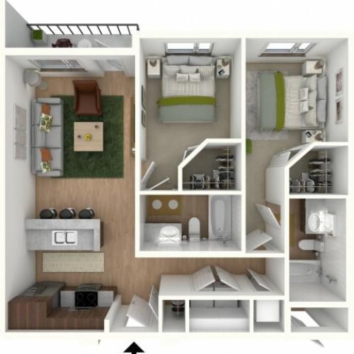 B1 - floor plan wfurniture display