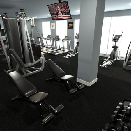 aspire discovery park gym
