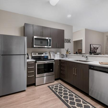 State-of-the-Art Kitchen | Apartments Near Purdue University | Aspire at Discovery Park
