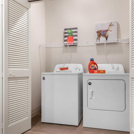 In-home Laundry| Apartments Near Purdue University | Aspire at Discovery Park