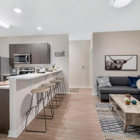 Spacious Living Area | Apartments Near Purdue University | Aspire at Discovery Park