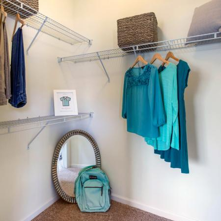 Closet Storage Space | Apartments Near Uncw Campus | Aspire 349
