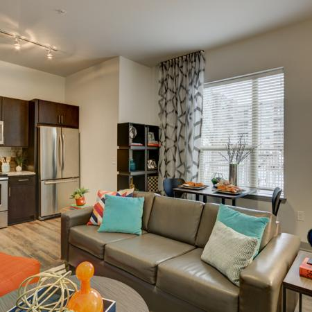 Elegant Living Room | Richardson TX Student Apartments | Northside