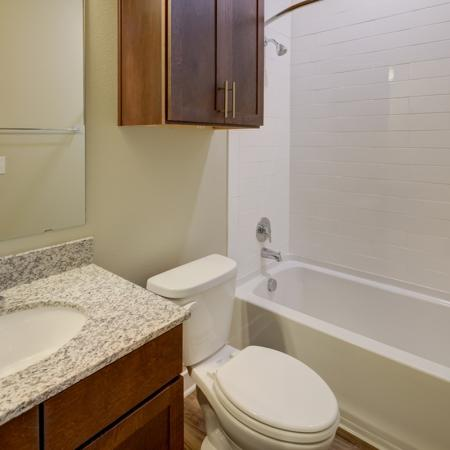 Spacious Bathroom | Apartment Homes In Richardson | Northside