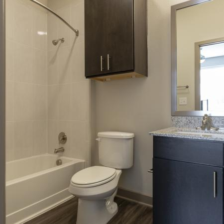 Vast Bathroom | Richardson TX Student Apartments | Northside
