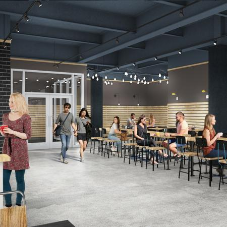 Resident Coffee Bar | Purdue Student Apartments | Aspire at Discovery Park