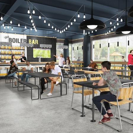 Community Coffee Bar | Apartments In West Lafayette Indiana Near Purdue | Aspire at Discovery Park