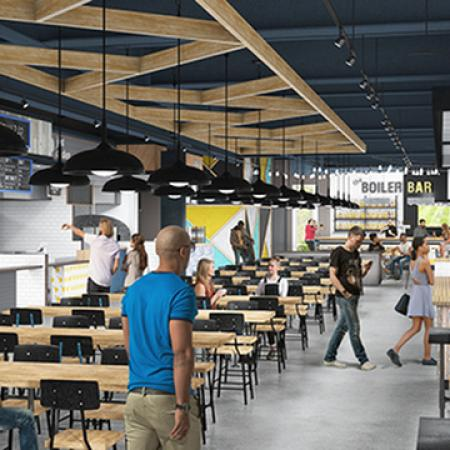 aspire discovery park - food hall