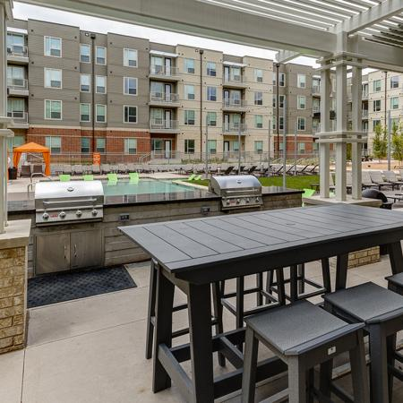 Community Sun Deck | Apartments in Richardson | Northside