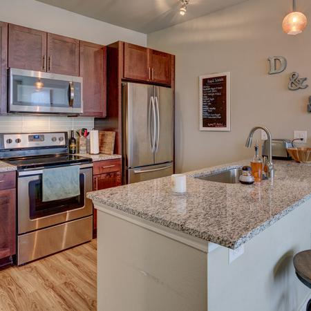 Modern Kitchen | Apartments Near Utd | Northside