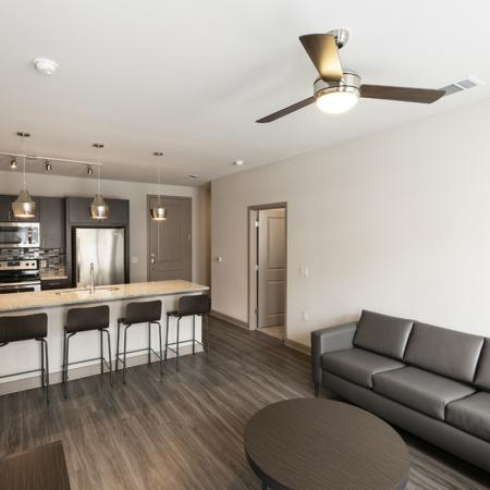 Spacious living room | University Of Texas At Dallas Apartments | Northside