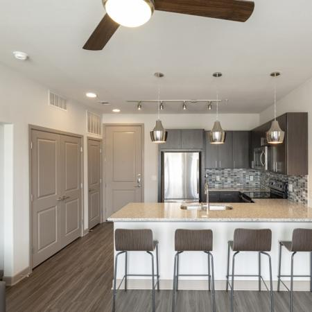 Elegant Kitchen | University Of Texas At Dallas Apartments | Northside
