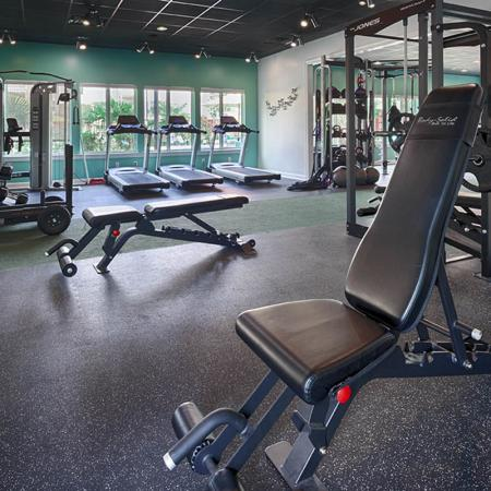 24-hour Fitness Center | Uncw Off Campus Apartments | Aspire 349