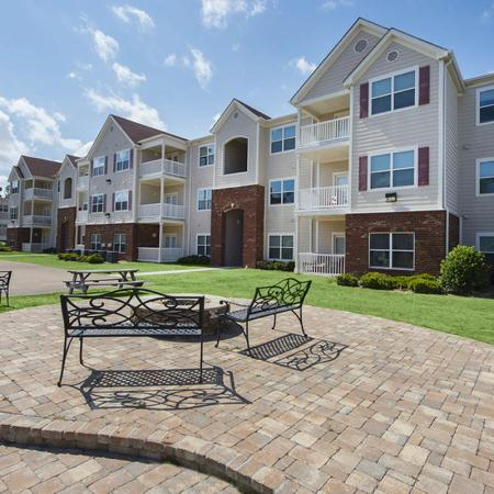 Resident Fire Pit | Apartments Near Uncw Campus | Aspire 349