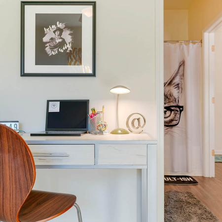 bedroom study area   Apartments Near Uncw Campus   Aspire 349