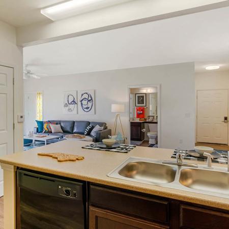 Elegant Kitchen   Apartments in Wilmington, NC   Aspire 349