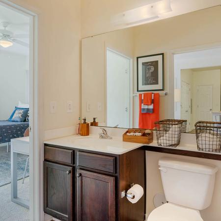 Elegant Bathroom | Apartments in Wilmington, NC | Aspire 349