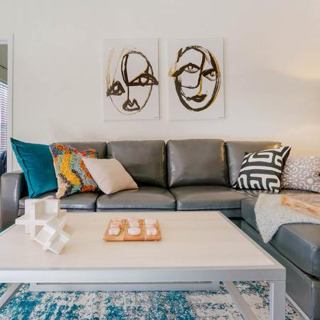 Spacious Living Room   Apartments in Wilmington, NC   Aspire 349