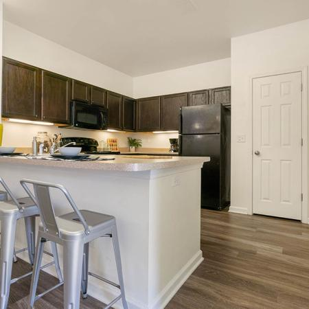 Modern Kitchen | Wilmington NC Apartment For Rent | Aspire 349