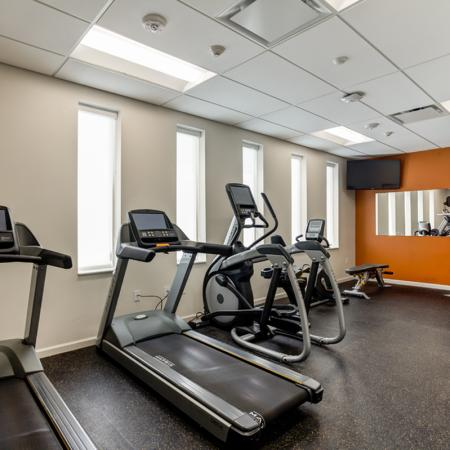 State-of-the-Art Fitness Center | Pet Friendly Apartments In Iowa City | Aspire at West Campus