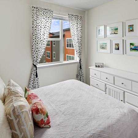Elegant Bedroom | UIowa Off Campus Housing | Aspire at West Campus