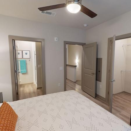 northside plus - townhome - bedroom