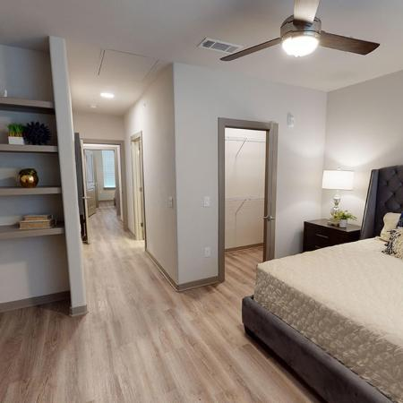 northside plus - townhome - master bedroom