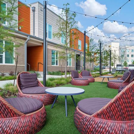 northside plus outdoor lounge area