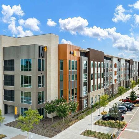 Student housing apartment exterior