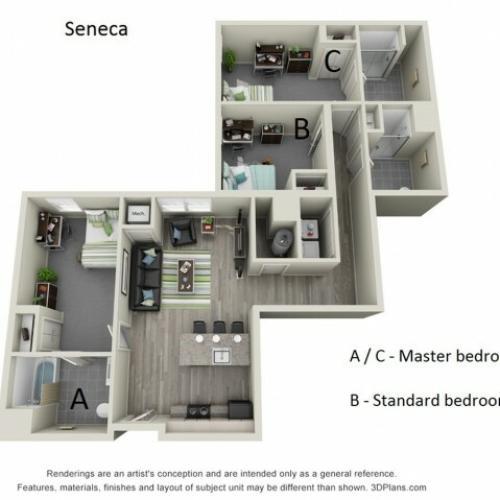 Floor Plan 4 | Hillside Commons