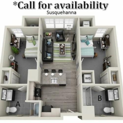 Floor Plan | Hillside Commons