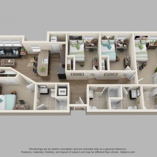 Floor Plan 4 | Twin River