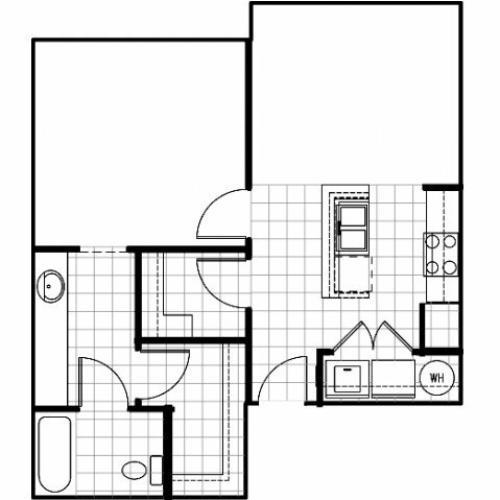 Del Sol Apartments: 2 Bed / 2 Bath Apartment In Albuquerque NM