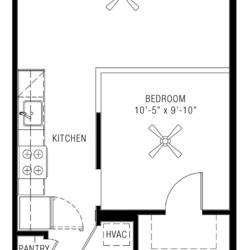 Studio Apartments | Majestic 3