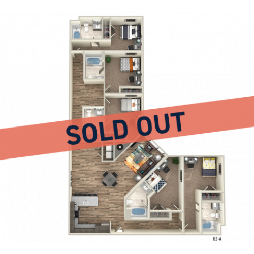 5x5 sold out