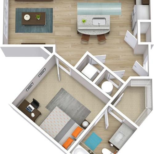The Indy - 1 Bedroom